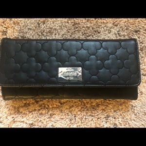 Black nanette lepore clutch wallet